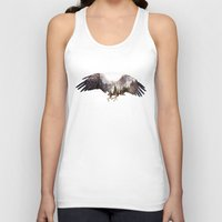 andreas preis Tank Tops featuring Arctic Eagle by Andreas Lie