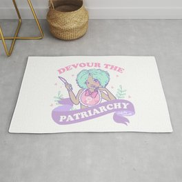 Devour The Patriarchy Rug