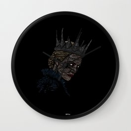 Ravenna • Evil Queen • Charlize Theron Wall Clock