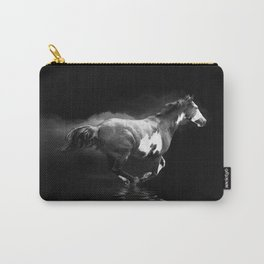 Galloping Pinto Horse Carry-All Pouch