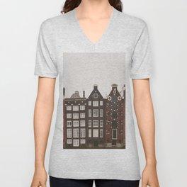 Amsterdam Crooked Row Unisex V-Neck