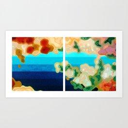 Three-Cornered World Art Print