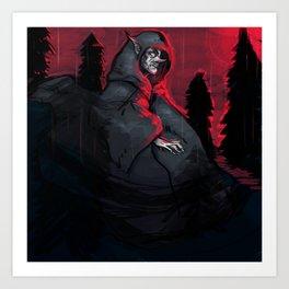 Lightning Farmer - Empigow Art Print