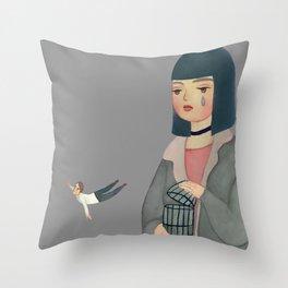 Hard to Let Go Throw Pillow