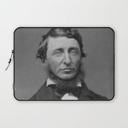 Benjamin Maxham - portrait of Henry David Thoreau Laptop Sleeve