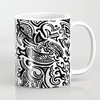 chaos Mugs featuring chaos by Viyenno Design