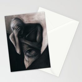 TEARS FROM THE VISCERAL EYE Stationery Cards