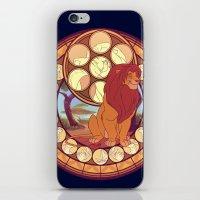 simba iPhone & iPod Skins featuring Simba by NicoleGrahamART