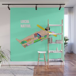 Local Native - Music Inspired Fan Art Digital Drawing Wall Mural