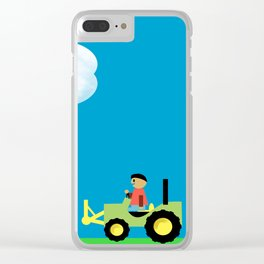 Care for our planet Clear iPhone Case
