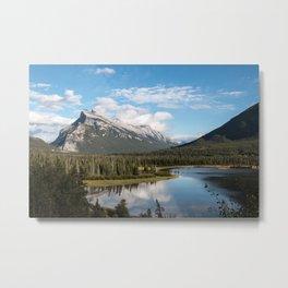 Vermillion Lakes, Banff Alberta Canada Metal Print