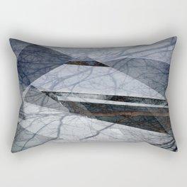 Geometric Abstact Trees Rectangular Pillow