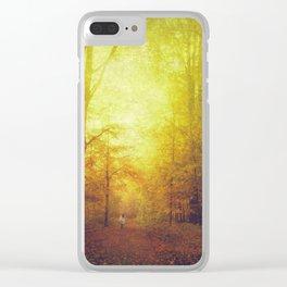 Sanguine Woods Clear iPhone Case