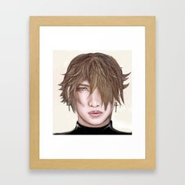 Kang Shin Song Framed Art Print