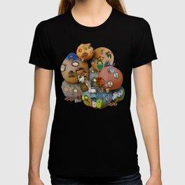 Fall Pumpkin Fantasy Tiny House Village T-shirt