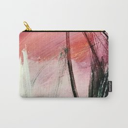Train of thought: a vibrant abstract mixed media piece Carry-All Pouch