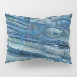 Ocean Depths Blue Marble Pillow Sham