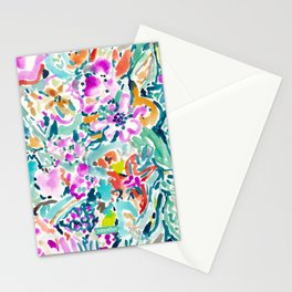 GARDEN GRAVY FLORAL Stationery Cards
