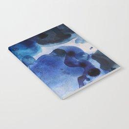 Indigo watercolor Notebook
