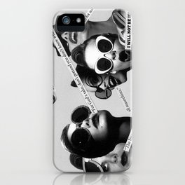 I will not be ignored iPhone Case