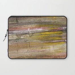 Grullo abstract watercolor Laptop Sleeve
