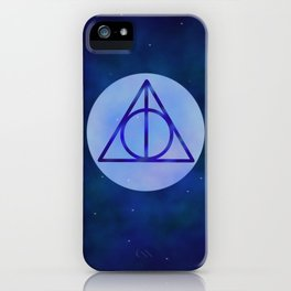 Deathly hollows iPhone Case