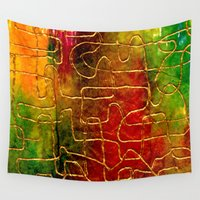 labyrinth Wall Tapestries featuring Labyrinth by Chicca Besso