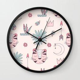 Modern Abstract Pattern Wall Clock