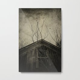 Into the Dark Past Metal Print