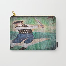 Vintage Golfer Carry-All Pouch