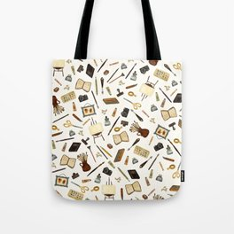 Creative Artist Tools - Watercolor Tote Bag