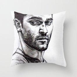 TEEN WOLF - Derek Hale Throw Pillow