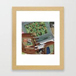 Hands-on Framed Art Print