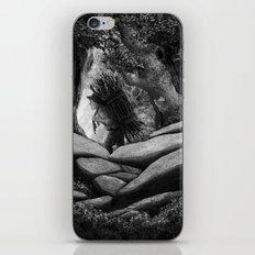 Follow the Woodcutter iPhone Skin