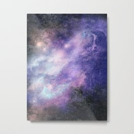 Nebula: Spirited Metal Print