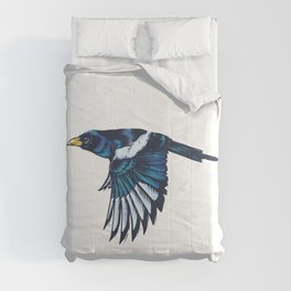 Yellow-billed Magpie Comforters