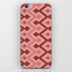 Kilim in pink iPhone & iPod Skin