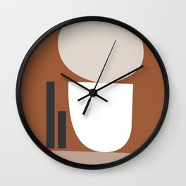 Shape study #11 - Stackable Collection Wall Clock