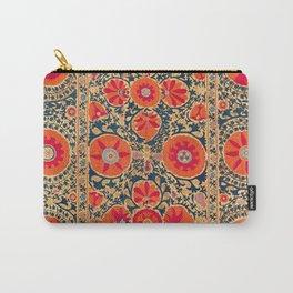 Kermina Suzani Uzbekistan Print Carry-All Pouch