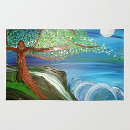 Tree by the Sea Rug