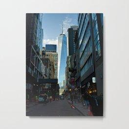 Downtown Giant Metal Print