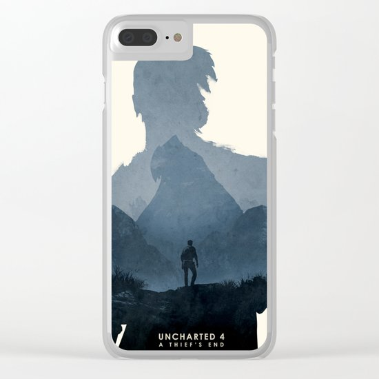 Uncharted 4 Clear iPhone Case