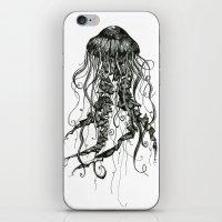 jellyfish iPhone & iPod Skins featuring Jellyfish by Aubree Eisenwinter
