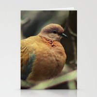 pigeon Stationery Cards featuring Pigeon by Zura