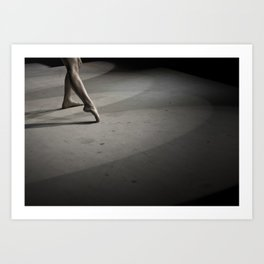 Dancing on Concrete Art Print