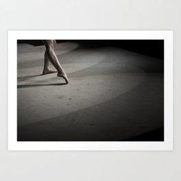 Dancing on Concrete Art Print