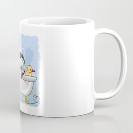 Penguin Bathtime Coffee Mug