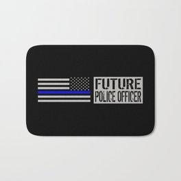Police: Future Police Officer Bath Mat