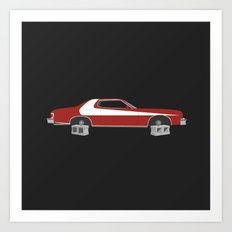 Starsky and Hutch Art Print