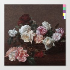 New Order - Power Corruption Lies Canvas Print